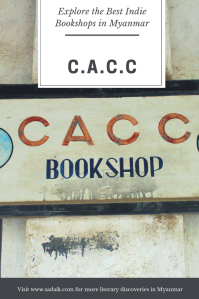 Bookshops - cacc pin