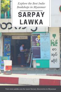 Bookshops - Sarpay Lawka Pin