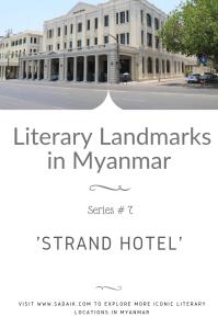 Landmarks - strand hotel