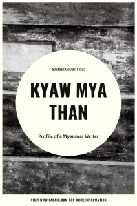profile - kyaw mya than